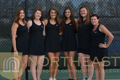 2017-04-06 TEN Womens Tennis Team Photo