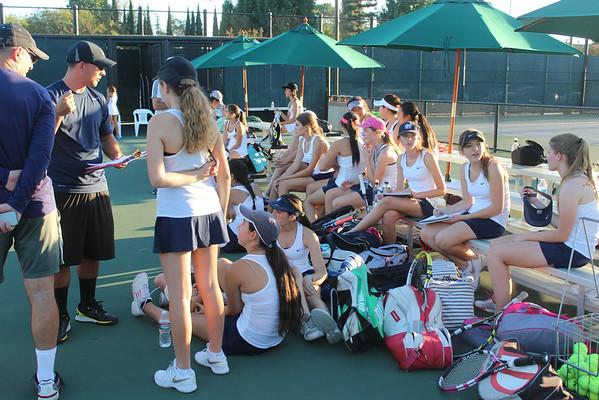 Girls JV Tennis Team 2014 - Notre Dame High School