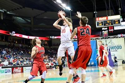 US Boy Basketball vs Liberty - State 3-2-18