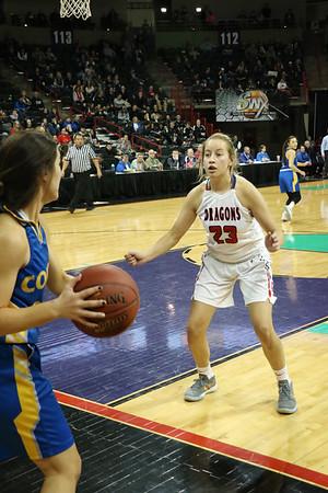 US Girls Basketball vs Colfax - State 3-2-18
