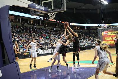 US Girls Basketball vs Ilwaco - State 3-1-18