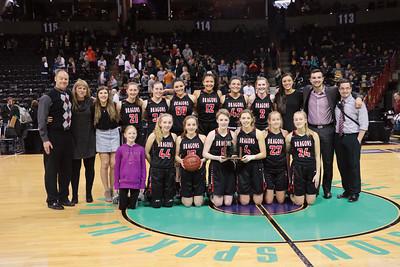 US Girls Basketball vs Napavine - State 3-3-18
