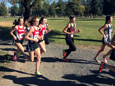 US Girls Cross Country at Colfax 10-28-17