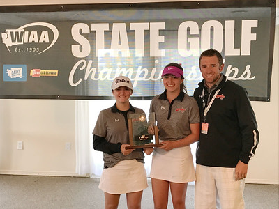 US Girls Golf at State 5-24-17