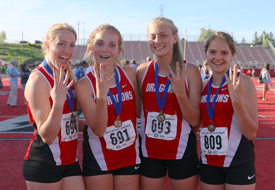 US Girls Track at State 5-24 to 5-26-18