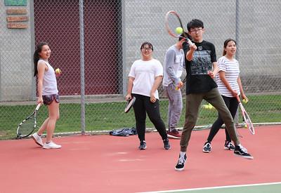 US Tennis JV Practice 5-2-18