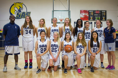 Varsity Girls Basketball 2016