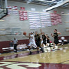 Rian Claxton beating Overlake on a fast break lay up.  Senior Night 2009