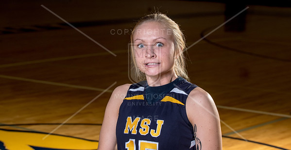 Womens Basketball Headshots 11/4/16