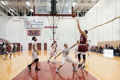 2016 - 17 Varsity Basketball vs Westminster