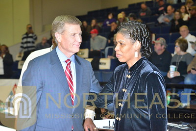 2016-01-21 WBB Lady Tigers for Life Ricky Ford Ceremony