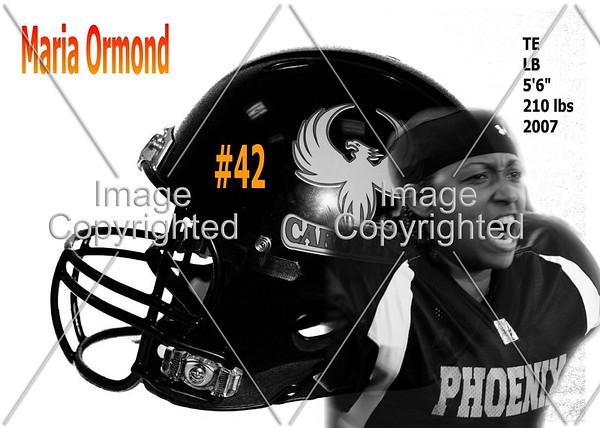 Maria Ormond #42  ~format 1 blk & wht