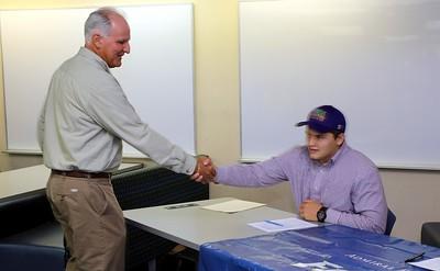 college signing