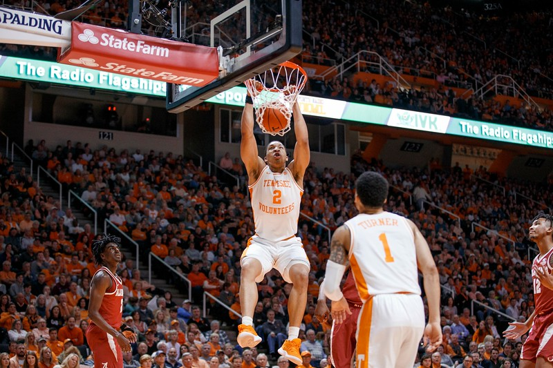 KNOXVILLE, TN - 2019.01.19 - Tennessee vs. Alabama