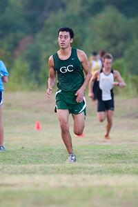 Bobcat Invitational Cross Country meet.