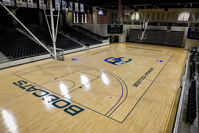 Centennial Center floor gets a makeover