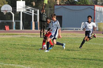 U14 Boys Soccer vs Bingham 2013.12.16