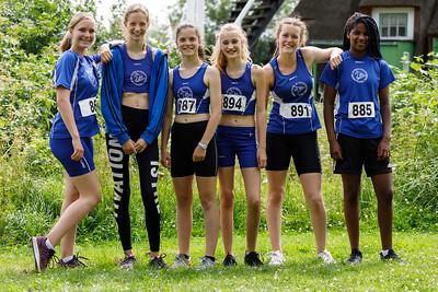 Meisjes D competitie 10 juni
