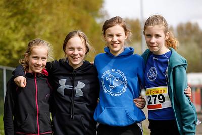 Meisjes D Vlaardingen 15 April 2017