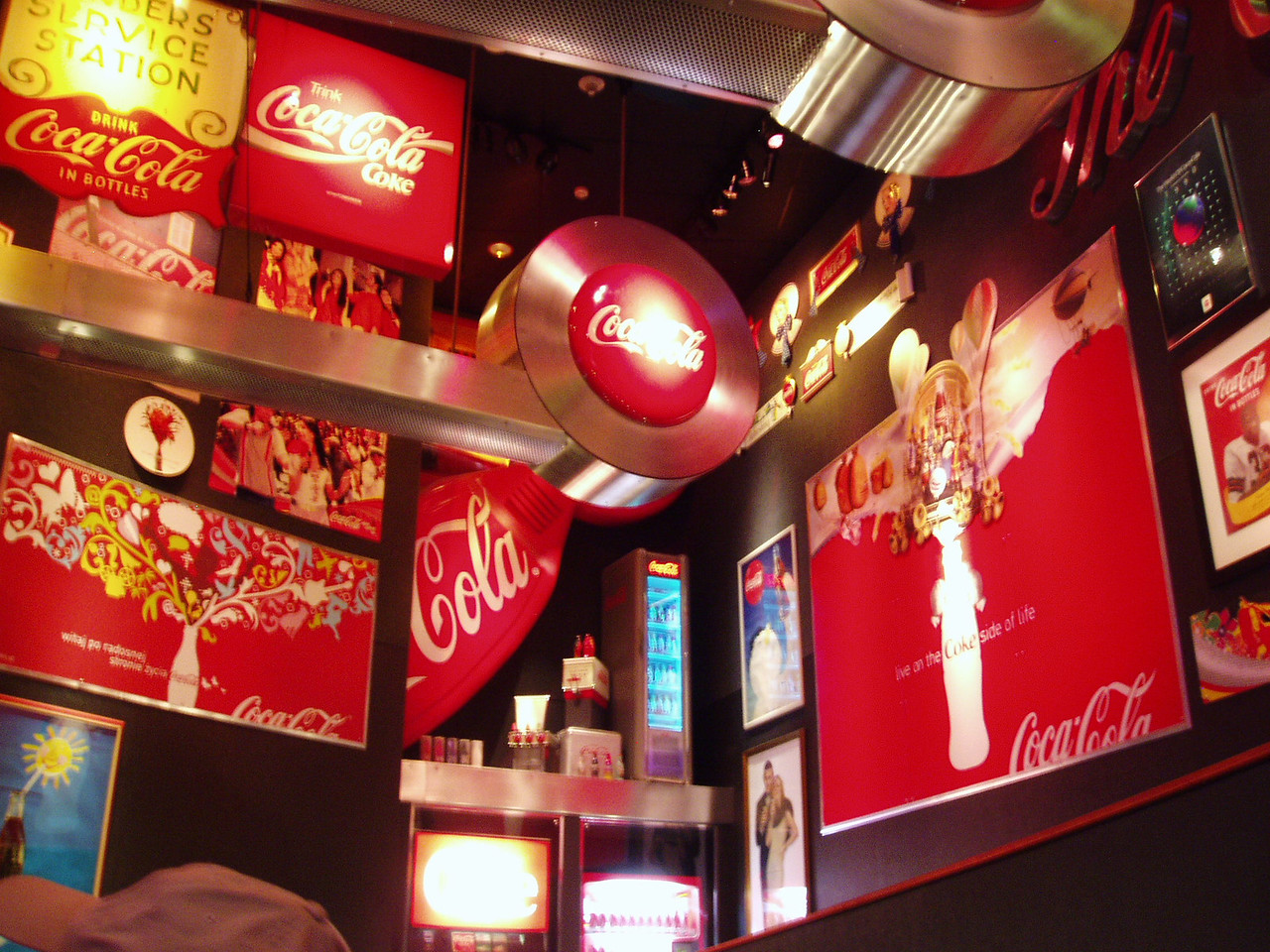 The World of Coke!!