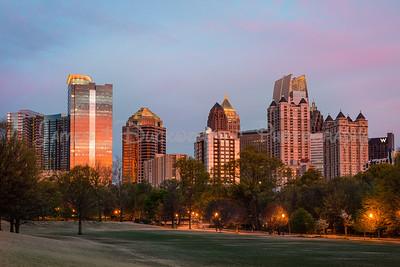 Midtown Skyline Sunrise