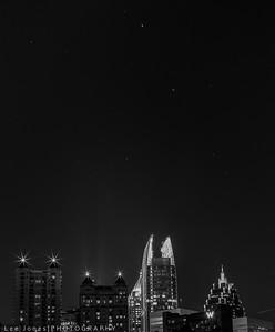Stars over Atlanta.