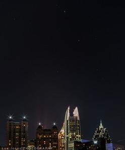 Stars over Atlanta