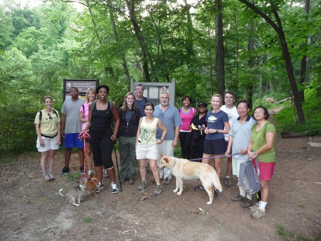 Vickery Creek, Atlanta Outdoor Club