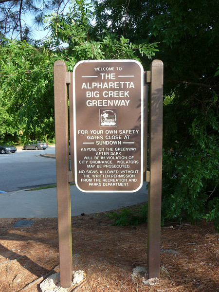 Alpharetta Big Creek Greenway (Atlanta Outdoor Club)