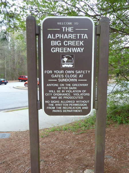 The Alpharetta Big Creek Greenway