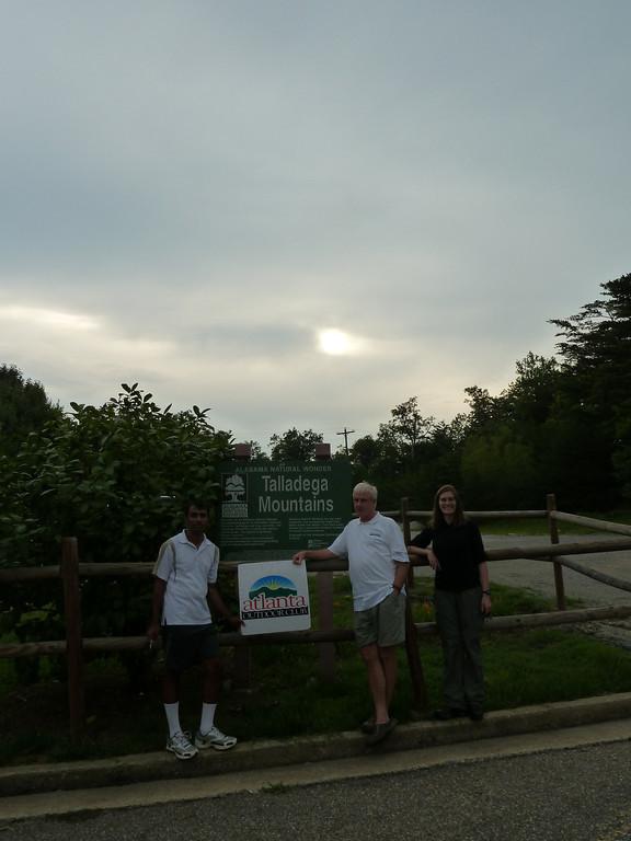 We reach our 5th peak at 7:30pm EST (Cheaha Mountain) Alabama