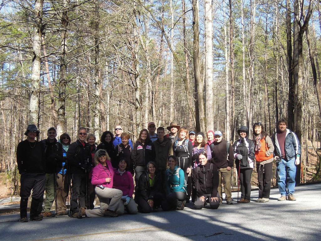 Photo Provided By: Joyce Taffee (Atlanta Outdoor Club)