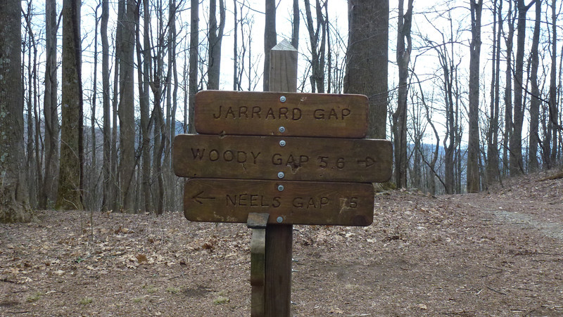 Woody Gap to Jarrard Gap (Atlanta Outdoor Club)