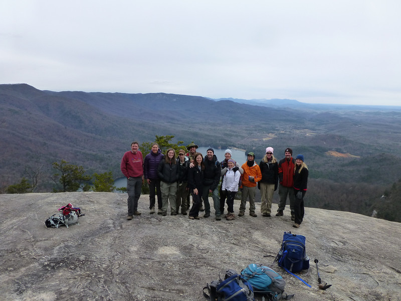 Table Rock, SC. Atlanta Outdoor Club
