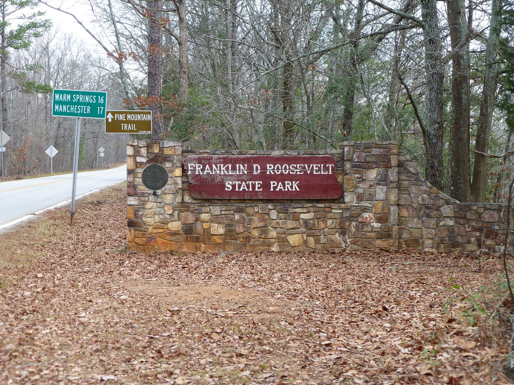 Pine Mountain Trail, Franklin D Roosevelt State Park (23 miles)