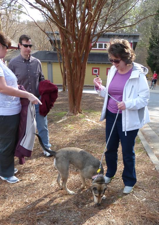 Nikki and Tim Meeting Cynthia and Georgia