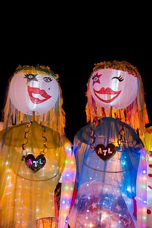 Atlanta Beltline Lantern Parade 2014
