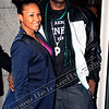LeBron James and his fiance Savannah at his event in Buckhead... Here was the kicker, he-- as in 6'8 LeBron-- tallest guy around, actually thought he could sneak past the red carpet...