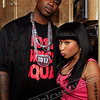 "Gucci Mane and Nicki Minaj at the ""Make the Trap Say Ayyy"" video shoot. Note: I'm always happy to see a rapper from New York, or anyone from New York for that matter."