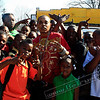 "Them kids are bigger than him... Sorry, OJ Da Juiceman sharing a moment with the kids at his video shoot for ""Make the Trap Say Ayyy"""
