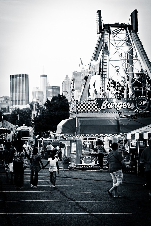 Atlanta, GA: Fair in the city.