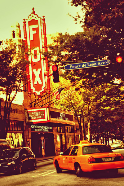 Atlanta, GA: The Fox Theater in Midtown.