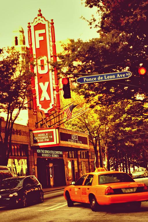 Atlanta, GA: The Fox Theater in Midtown.