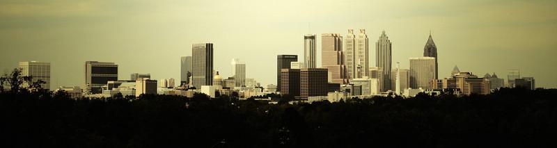 Atlanta, GA: Skyline.