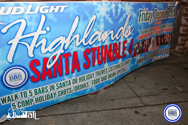 Highland Santa Stumble | Friday 12-19-2014