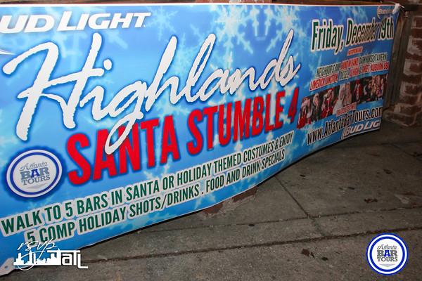 Highland Santa Stumble | Friday 12-19-2014