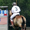 "If you look closely, you'll see my buddy, Randy, up in the ""tower"" where he keeps score and never fails to make me jump when he sounds the end of each chukker."