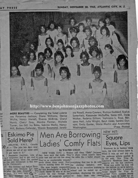 1965 Atlantic City Cotillion - Press article