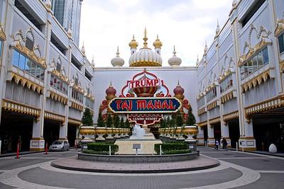 Welcome to the Trump's Taj Mahal in Atlantic City