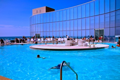 One of The Revel Swimming Pools